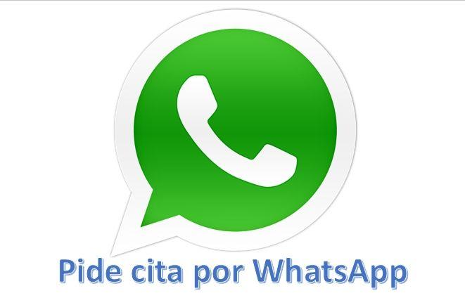 Pidenos tu cita por Whatsapp ahora mismo